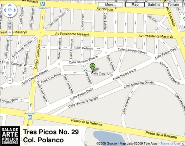Mapa SAPS