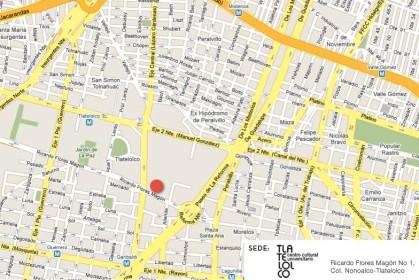 Mapa CCUT